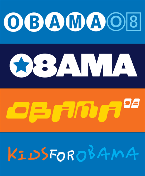 Obama 2008 bumper stickers