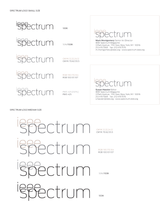 Spectrum logo design 3